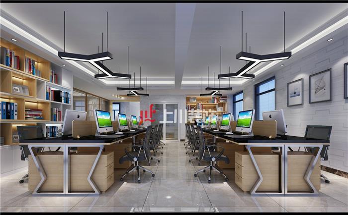 里水沙洛工业区360方展厅+办公室装修