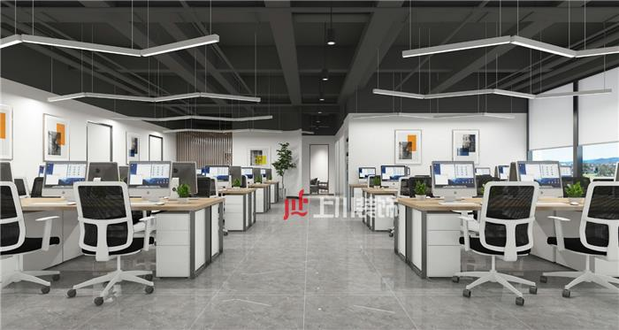 南海和顺和桂工业园240方办公室装修开工大吉