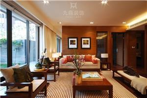 上海滩花园新房住宅装修设计效果图