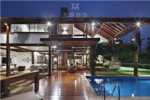 东南亚独栋别墅装修设计效果图