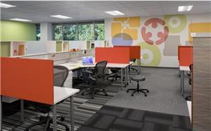 现代写字楼办公室装修设计效果图