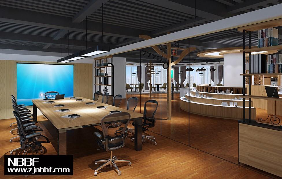 慈溪展示办公会议室