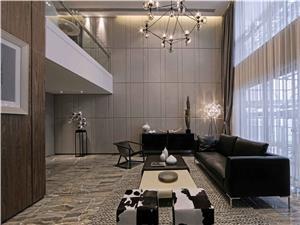 现代联排别墅装修设计效果图