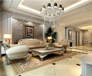 欧式新房住宅装修设计效果图
