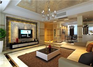 水木清华欧式新房住宅装修设计效果图