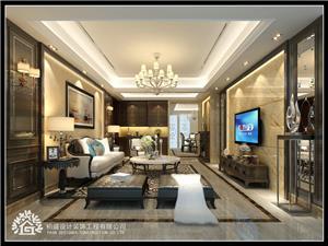 潮阳谷饶镇四海五洲城中式新房住宅装修设计效果图