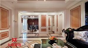 新古典新房住宅装修设计效果图