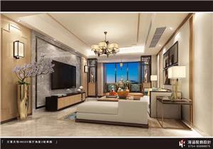 万景天悦4B503现代风格新房住宅装修设计效果图