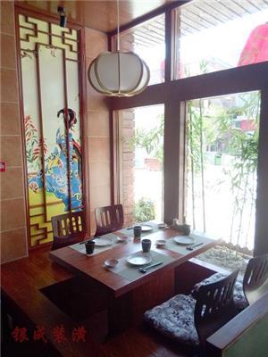 日式餐厅酒楼装修设计效果图