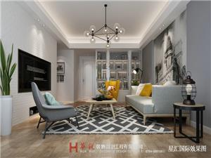 星汇国际1栋2梯703简约新房住宅装修设计效果图
