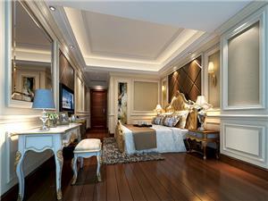 潮阳中信华庭36栋1梯1702简欧新房住宅装修设计效果图
