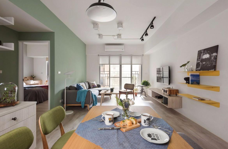 自然幽雅新房住宅装修设计效果图