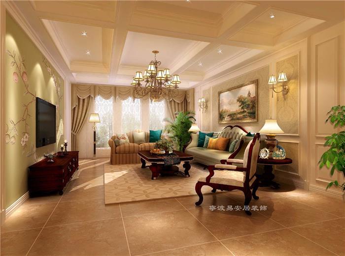 欧式古典新房住宅装修设计效果图