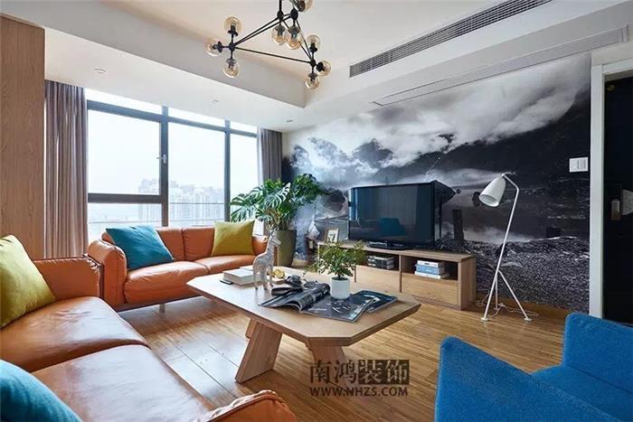 120平方北欧风格新房住宅装修设计效果图