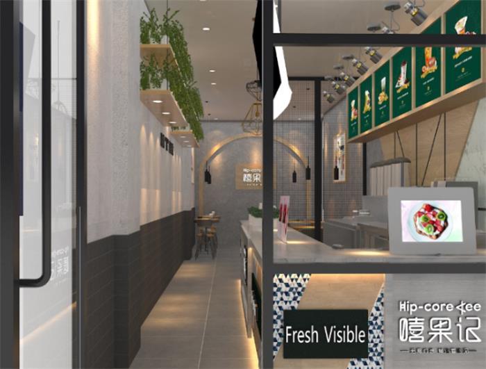 现代商业店铺装修设计效果图