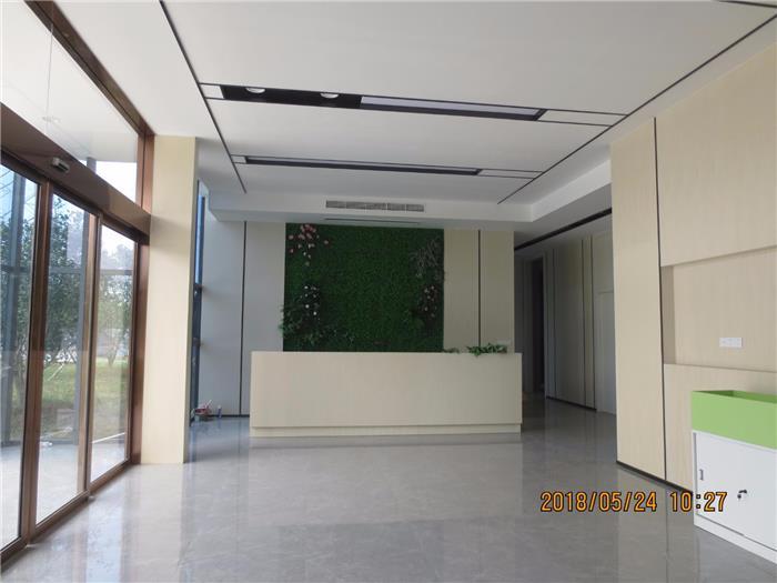 宁波广恒办公楼现代写字楼办公室装修设计效果图