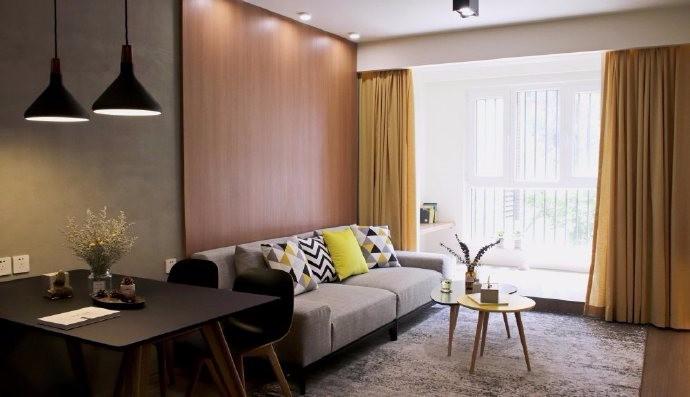广德里现代新房住宅装修设计效果图