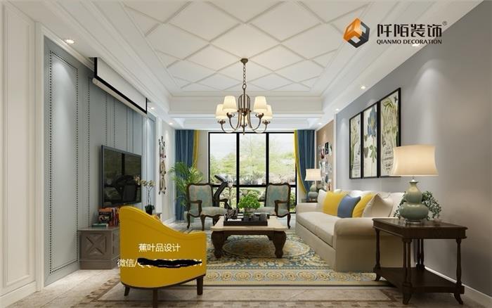 美式新房住宅装修设计效果图