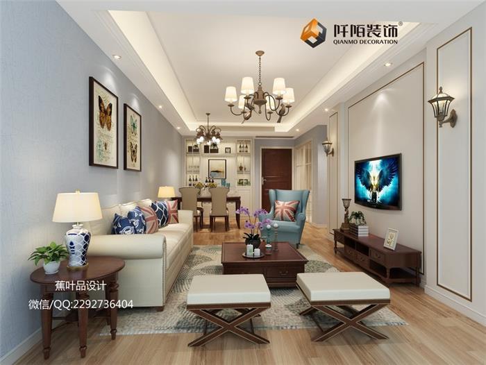铂悦府新房住宅装修设计效果图