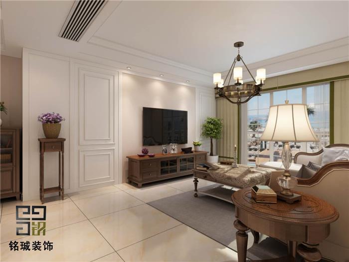 红星国际 美式新房住宅装修设计效果图