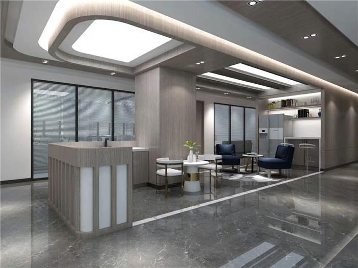 东都国际船务公司办公室装修设计效果图