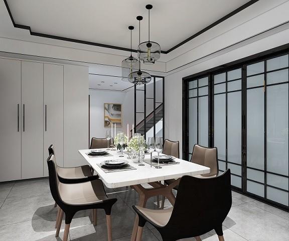 金色华府现代新房住宅装修设计效果图