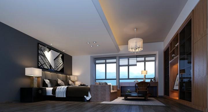 依云上城 莫小姐中式新房住宅装修设计效果图