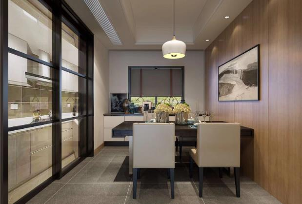 现代简约新房住宅装修设计效果图