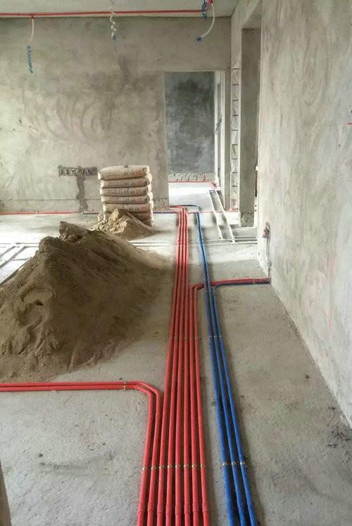 三水山水一品何生120方新房简约风格水电安装图