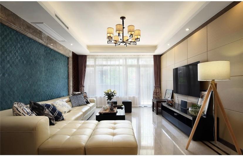 丽江苑美式新房住宅装修设计效果图