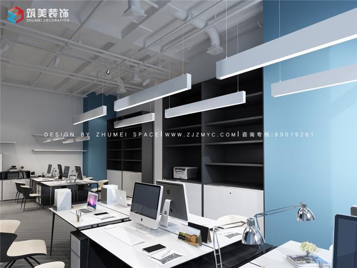 京东大厦办公室装修设计效果图