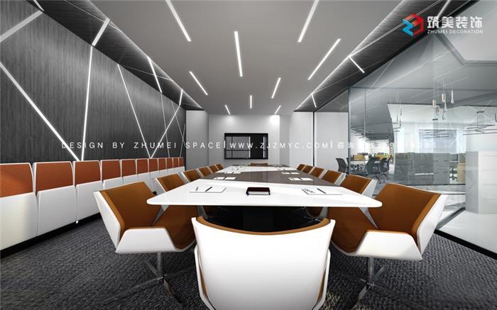 新金穗彩虹口袋办公室:高格调,简约的色彩与线条,绘制大方明亮 的办公空间!