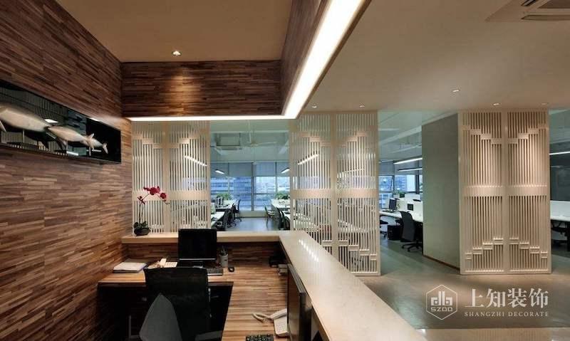 为什么办公室装修设计隔断能提高工作效率.jpg