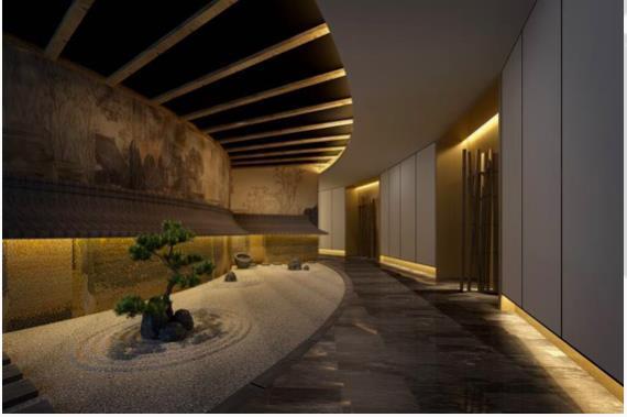 日式酒店宾馆装修设计效果图-齐遇派酒店设计