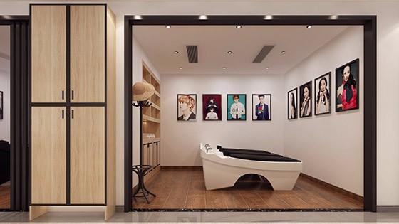 现代独栋别墅装修设计效果图-国奥乡邻雅居现代美式别墅