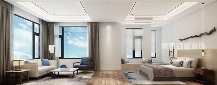 旺角城-现代风格装修实景图-现代新房住宅装修设计效果图