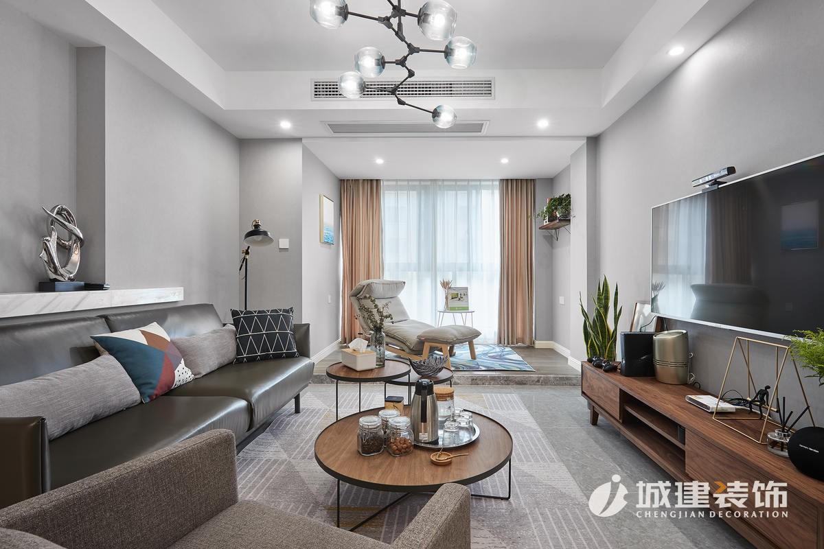 北欧风格装修设计效果图/欧式新房住宅装修设计效果图
