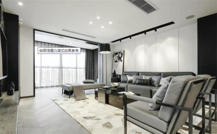 铂翠湾新房住宅装修设计效果图