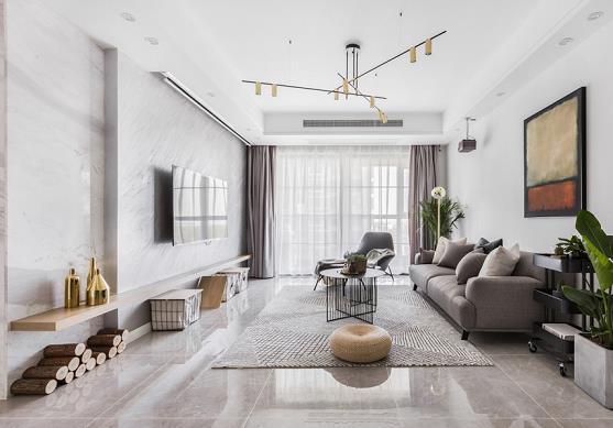 青林湾新房住宅装修设计效果图