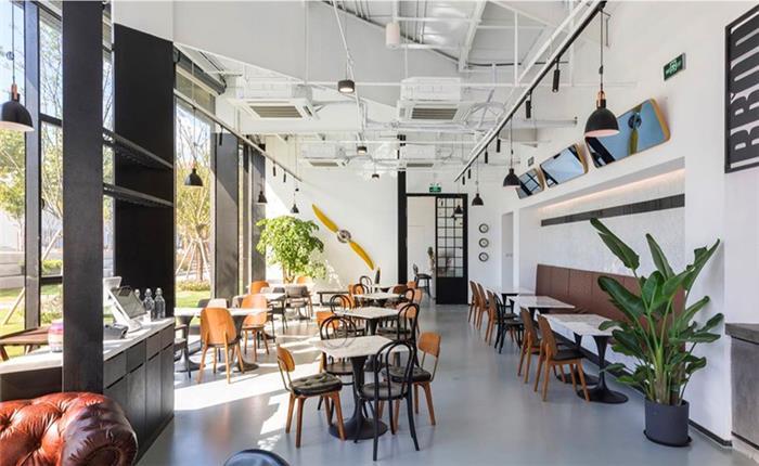 商业空间休闲咖啡厅装修方案