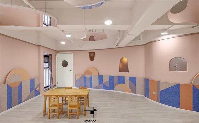 幼教学校培训机构装修设计效果