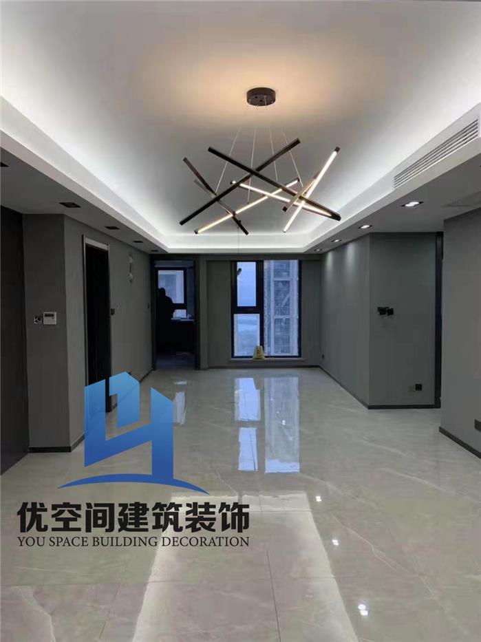 红星国际二期4幢后现代新房住宅装修设计效果图