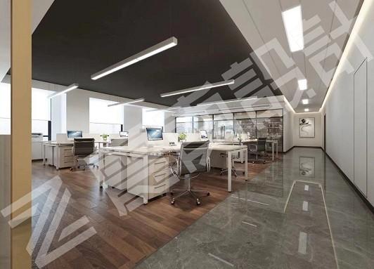 皓凯贸易 写字楼办公室装修设计效果图