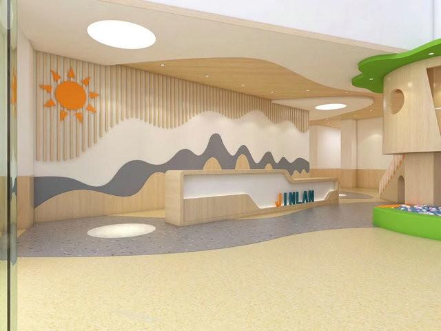 幼儿园装修设计—容桂幼儿早教装修设计