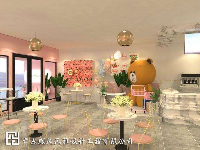 主题餐厅装修设计—容桂天佑城NOBIBI主题餐厅装修设计