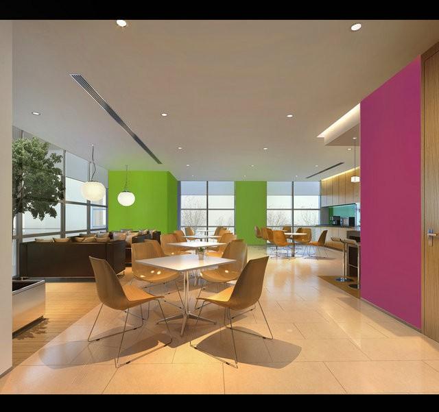 办公室装修设计—中山家电电器公司办公室装修设计