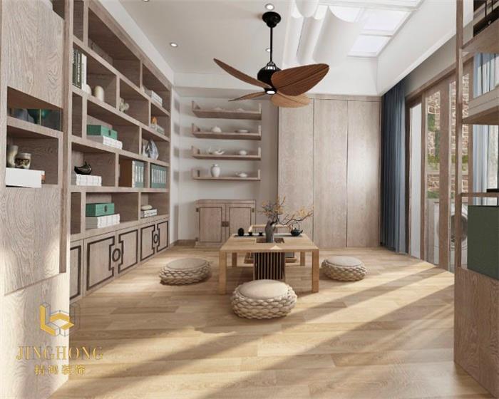 日式复式住宅装修设计效果图