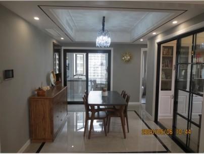 宁波海曙 金茂悦7幢1901室现代新房住宅装修设计效果图