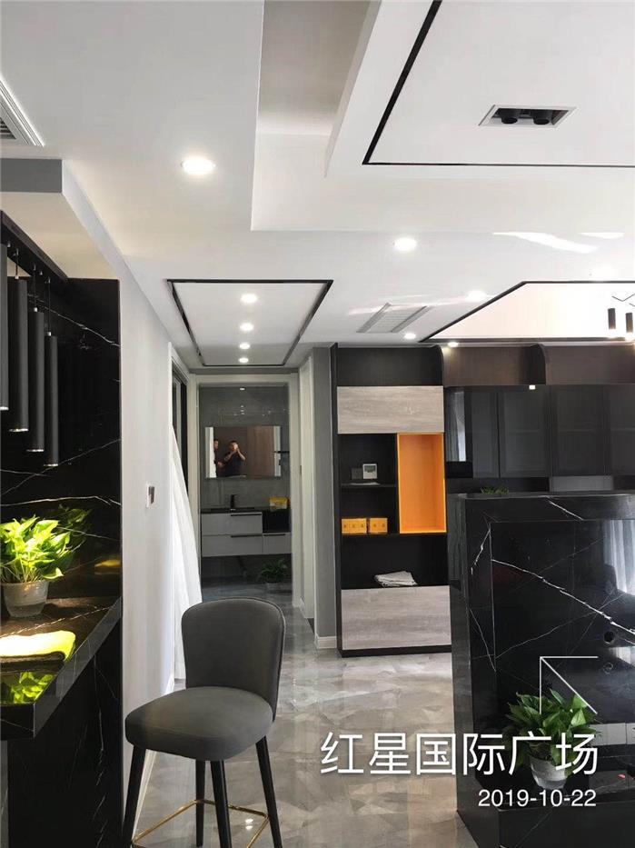 现代轻奢新房住宅装修竣工图