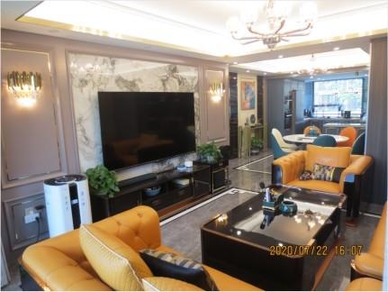 宁波鄞州 明山华府206室 雅致主义新房住宅装修设计效果图